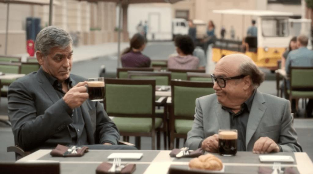 جرج کلونی در کمپین Nespresso