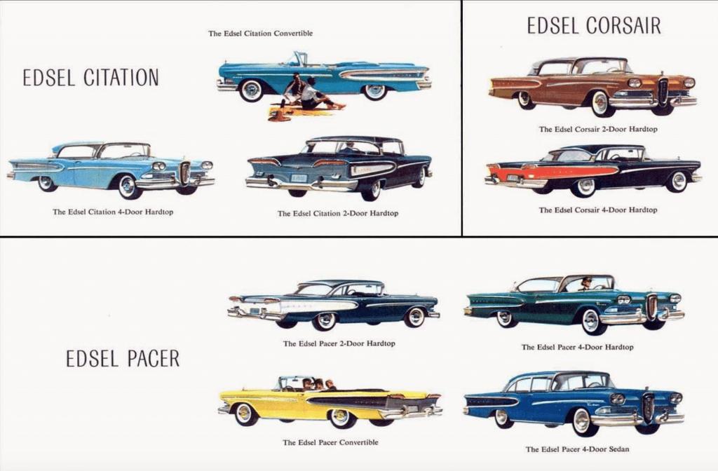 مدل های مختلف فورد ادسل