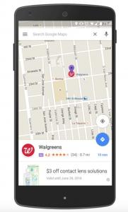 نقشه گوگل و تغییرات جدید