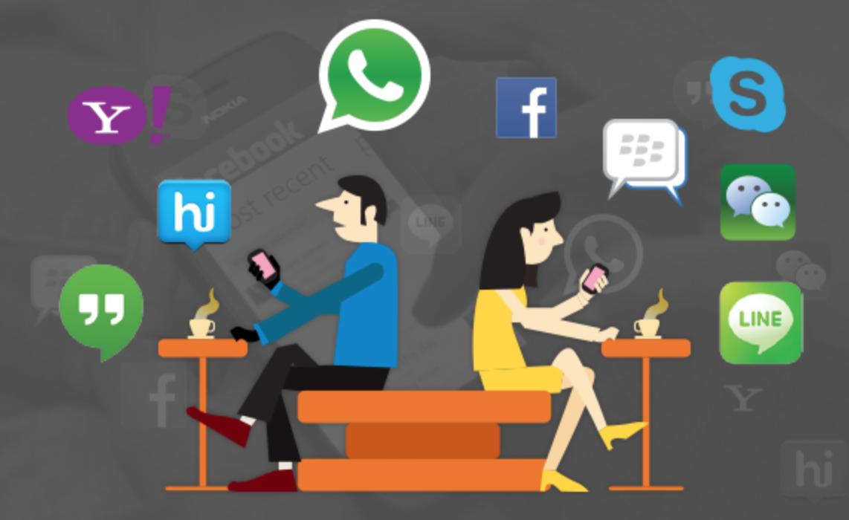 اپلیکیشن های پیام رسان جایگزینی برای شبکه های اجتماعی
