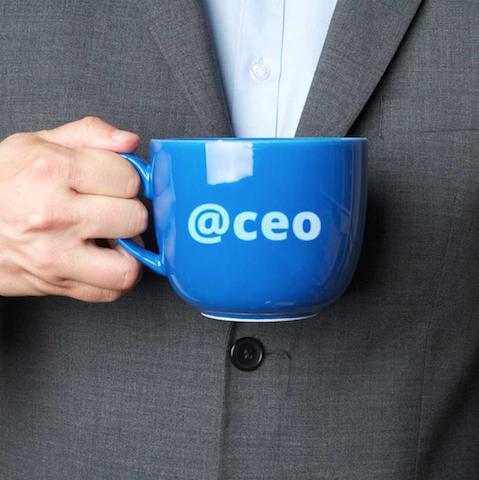 حضور مدیرعامل ها در شبکه های اجتماعی