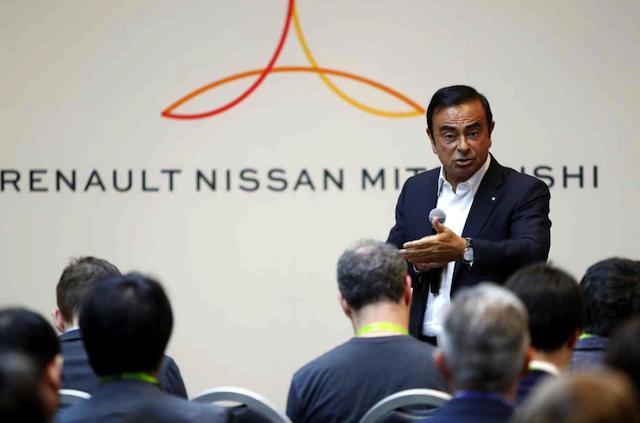 کارلوس گون و سه شرکت نیسان-رنو-میتسوبیشی